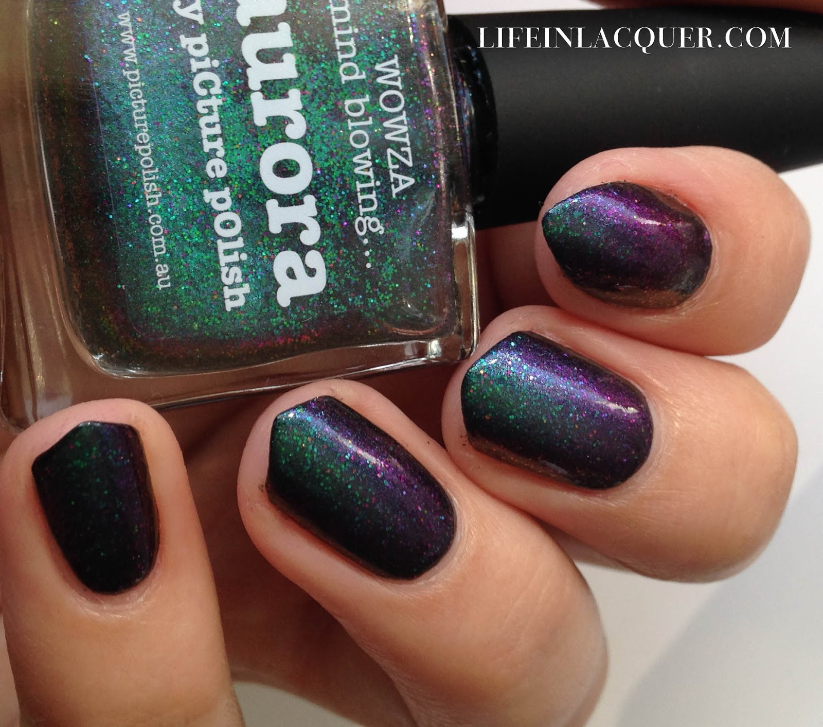 piCture pOlish Aurora indie swatch