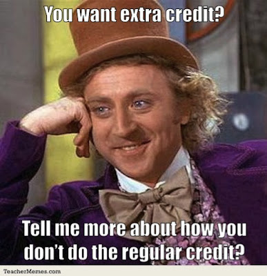 extra%2Bcredit tins and treasures end of first term ~best teacher memes ~final