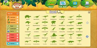http://pbskids.org/dinosaurtrain/games/fieldguide.html