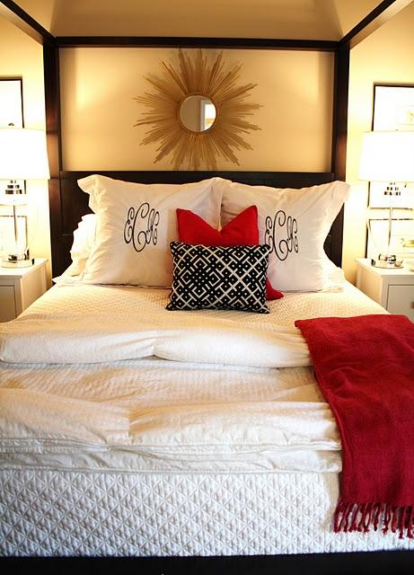 Preppie Peonie Master Bedroom
