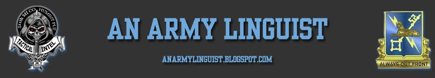 an Army Linguist