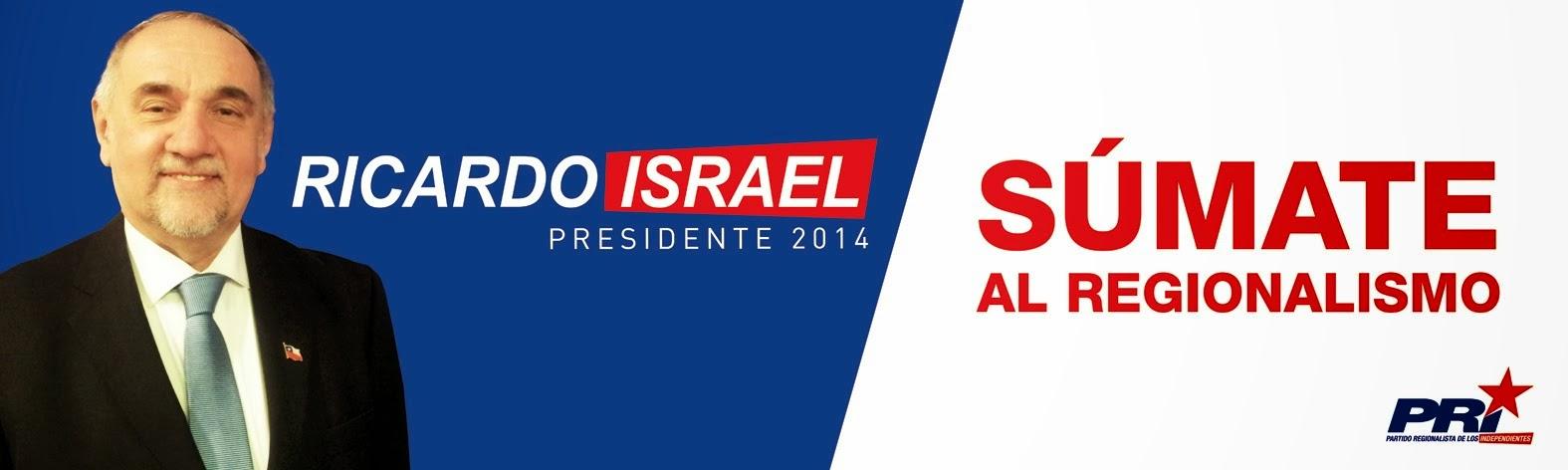 Ricardo Israel Presidente 2014