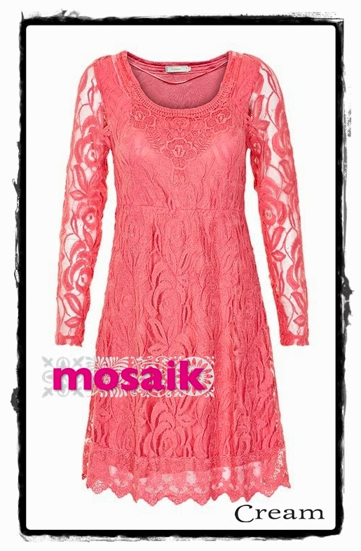 Annemone lace dress från Cream på Mosaik i Luleå