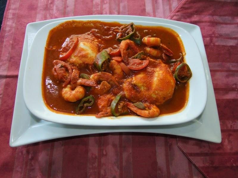 Recette d'ojja aux crevettes