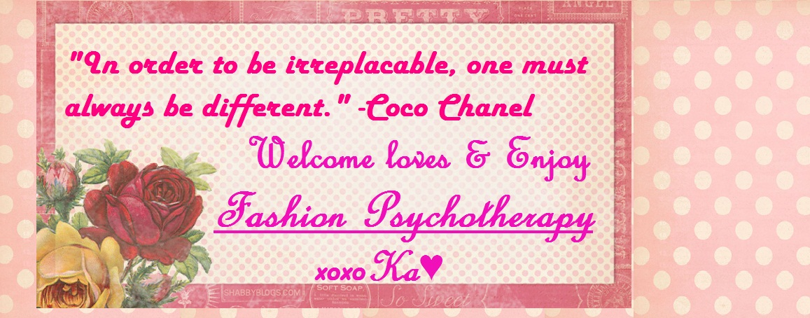 ♥ .FASHION PSYCHOTHERAPY. ♥