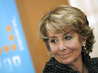 Esperanza Aguirre llama vagos a los funcionarios