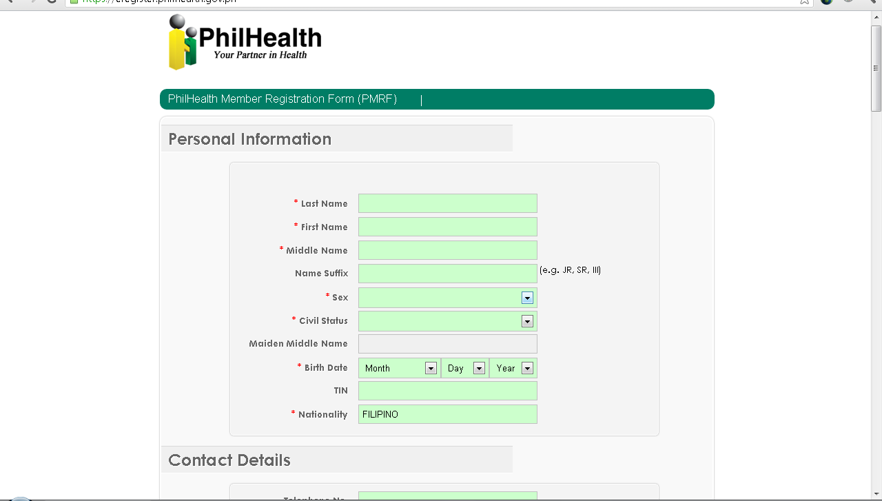 ... form. Philhealth will then send you the copy of Member Data Record(MDR