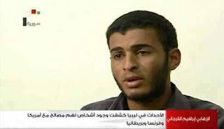In confessions broadcast by the Syrian Arab TV on Sunday after the 8:30 PM news, Libyan terrorist Ibrahim Rajab al-Farajani said that societies and organizations funded by Arab Gulf countries and affiliated with Al Qaeda train terrorists in Libya then send them to Syria via Turkey.