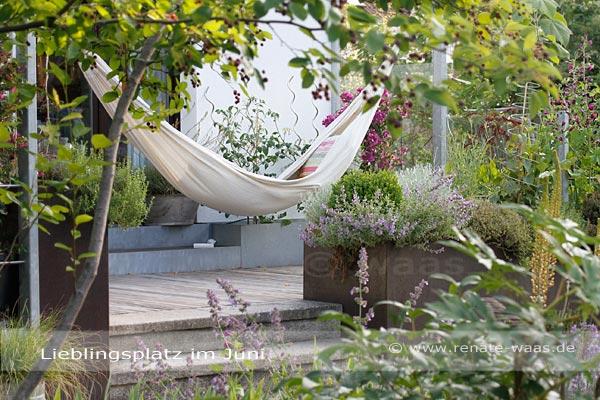 Hängematte für Garten Lounge Möbel Ideen