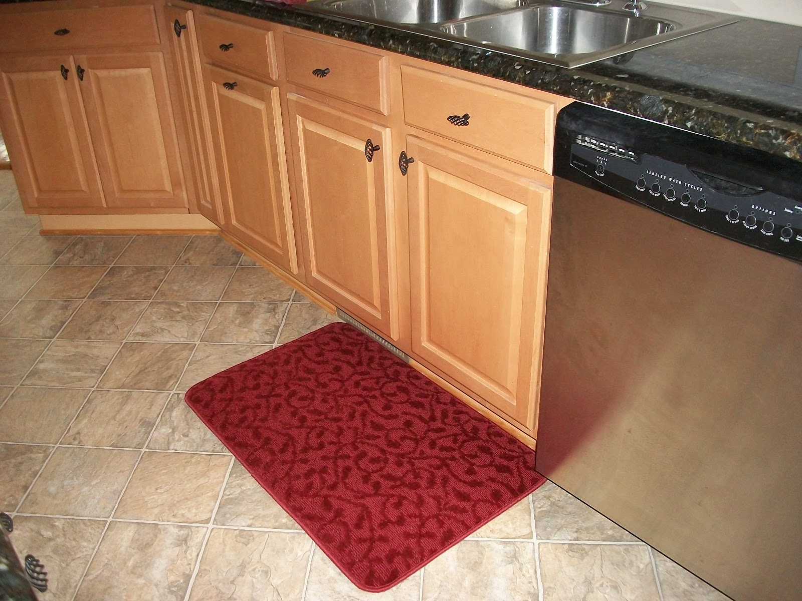 e mat padded leather gelpro mats vintage classic floor kitchen vl