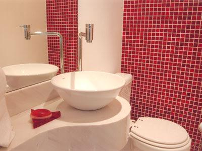 Dicas, imagens e fotos de Banheiros Decorados com Pastilhas