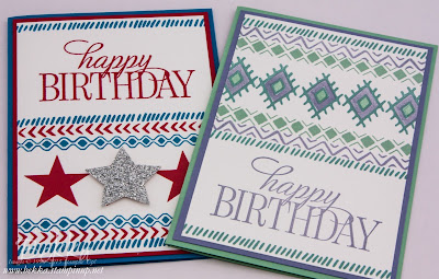 Bohemian Boarders Colour Inspired Cards - check this blog for lots of inspiring ideas