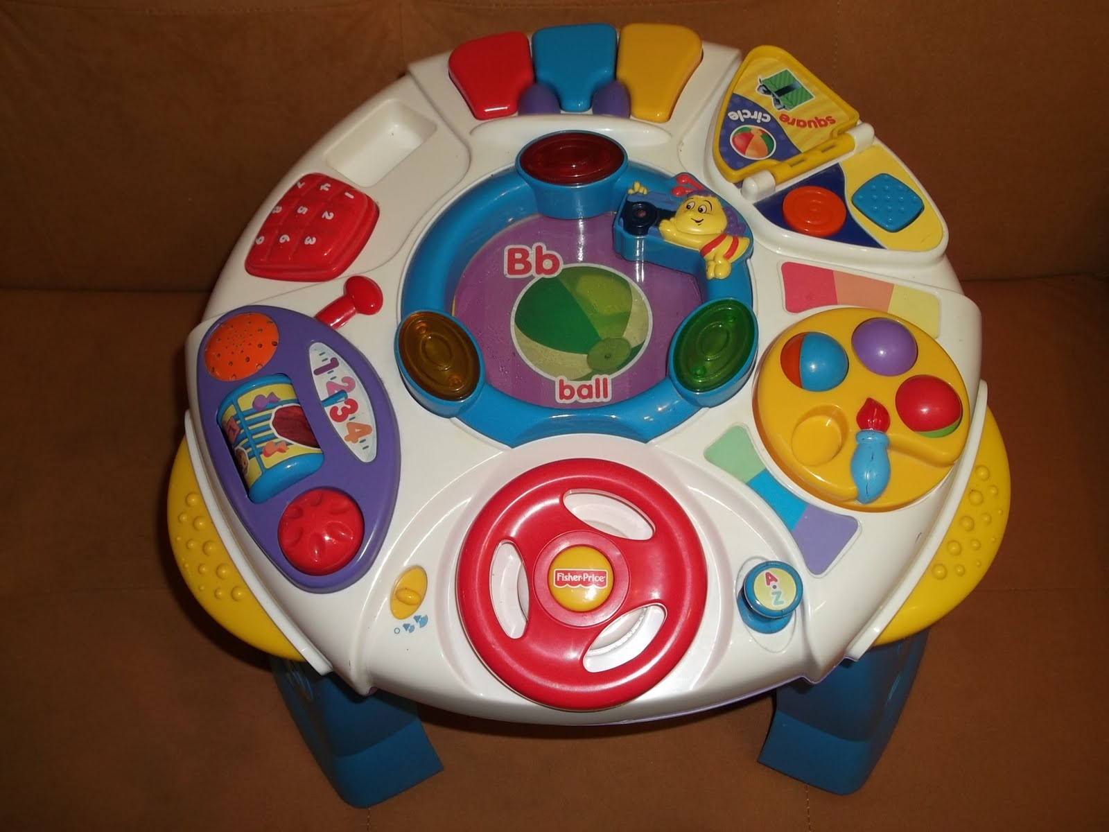 Pu3 store sold item fisher price smart screen intelligent table - Table activite fisher price ...