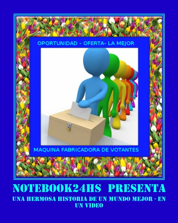 NOTEBOOK24HS PRESENTA - UN HERMOSO Y TIERNO VIDEO