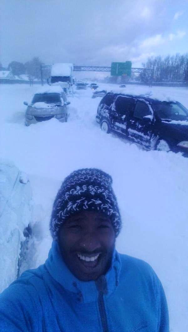 شاهد مذا تفعل العواصف الثلجية بالمنازل من حول العالم