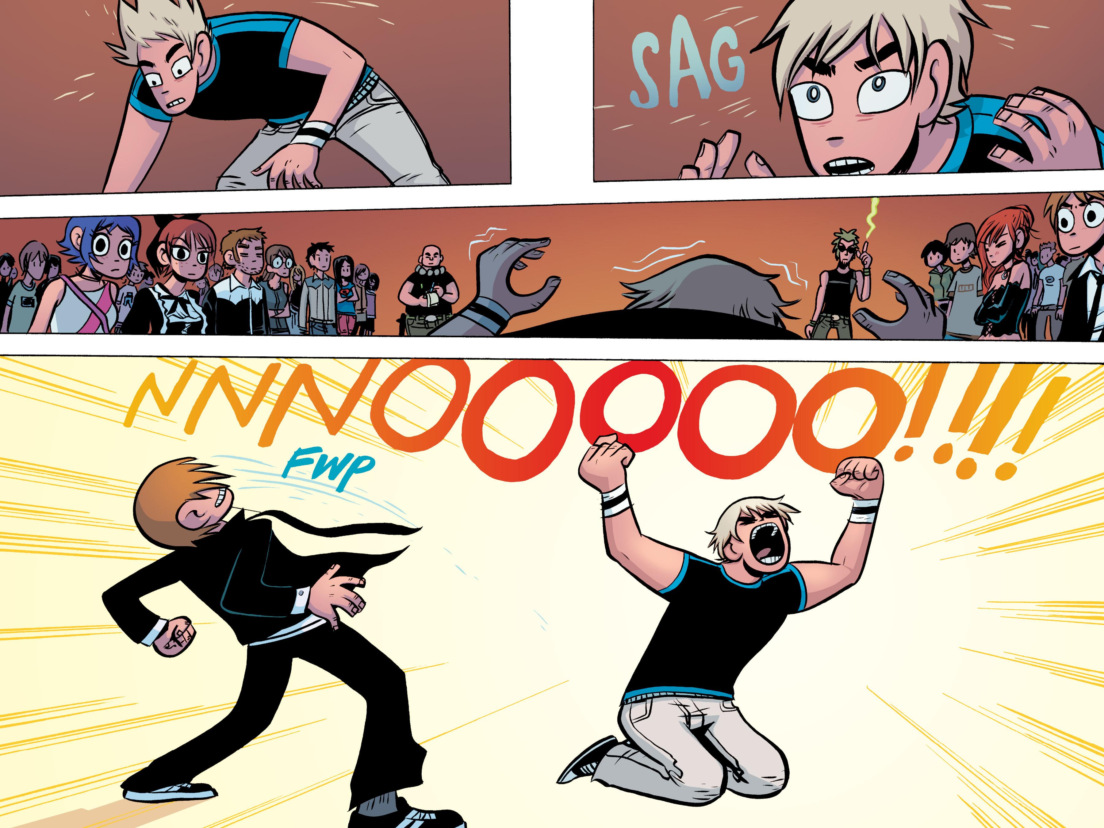 Read online Scott Pilgrim comic -  Issue #3 - 163
