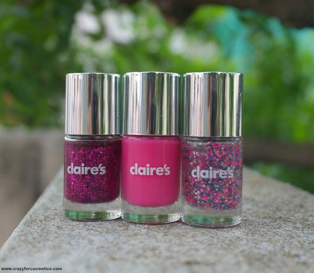 Pink color nail polish