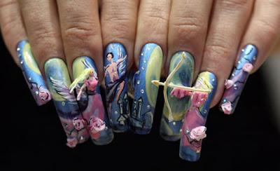 Crazy Nails Art Cfcpoland