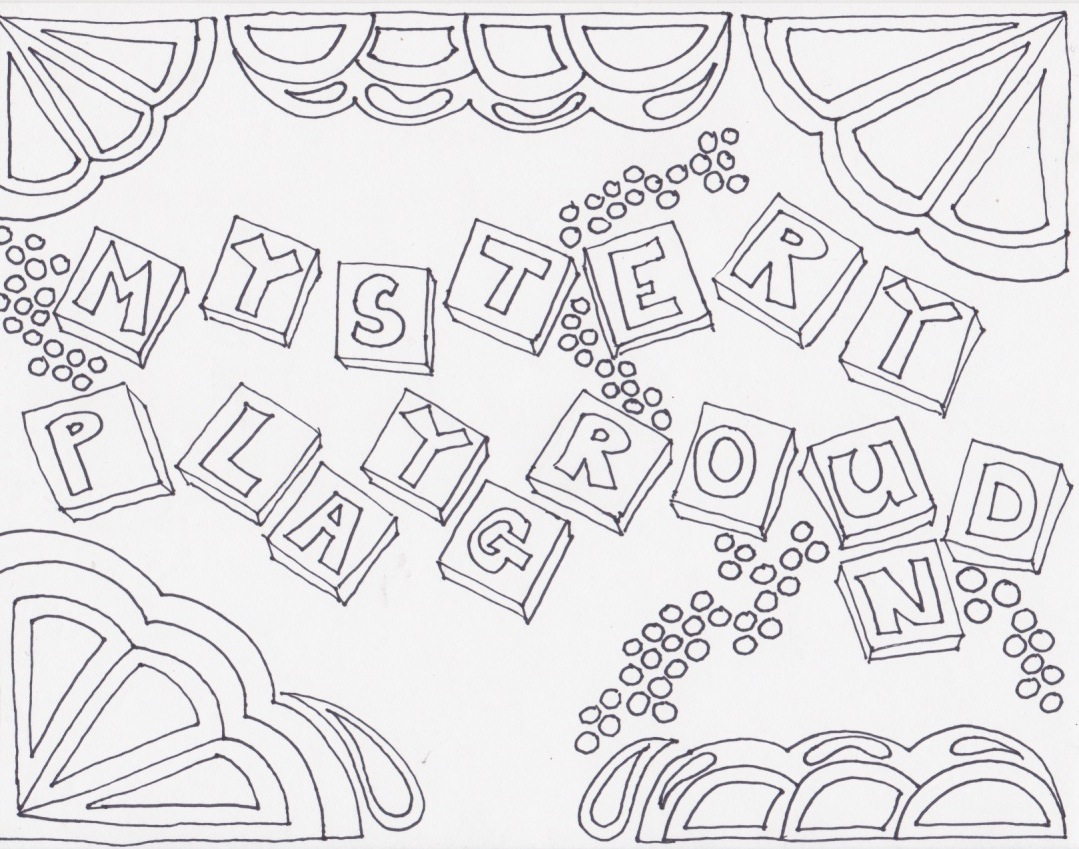 Mystery playground adult coloring pages of mystery for Mystery picture coloring pages