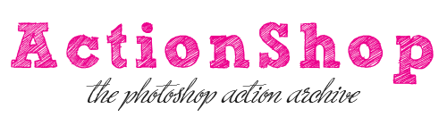 ActionShop - the photoshop FREE action archive, tutorials, brushes, textures...