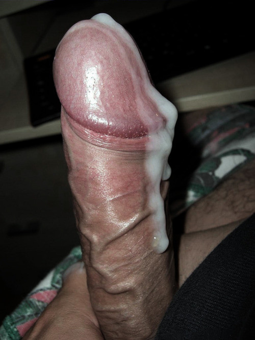 Black Stud Ass Covered With Cum