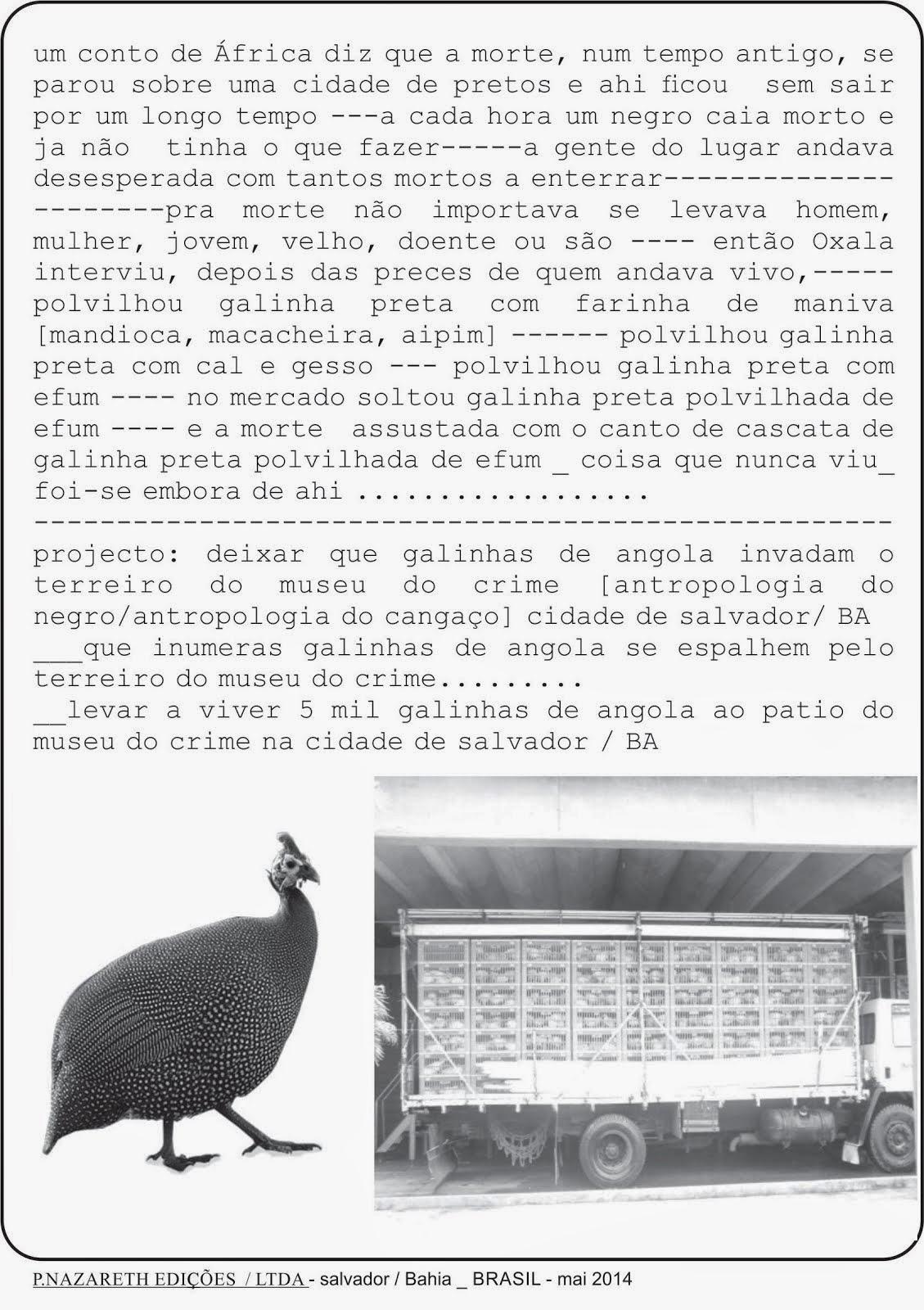 CA _panfleto 01_ salvador - BA / BRASIL