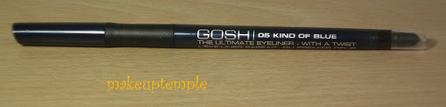 Gosh Ultimate Eye Liner 05 Kind Of Blue Swatches