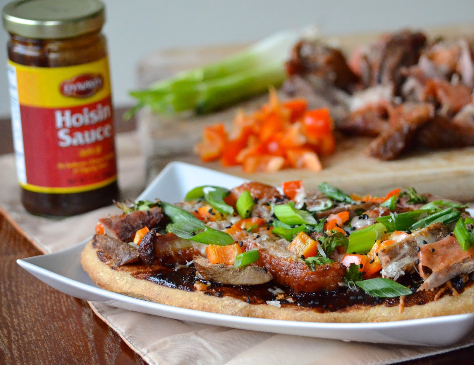 Obsessive Cooking : Duck Pizza with Hoisin and Scallions