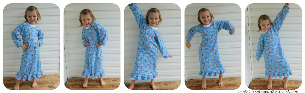 Cole\'s Corner and Creations: Sleeping Bunnies Nightgown and FREE 18 ...