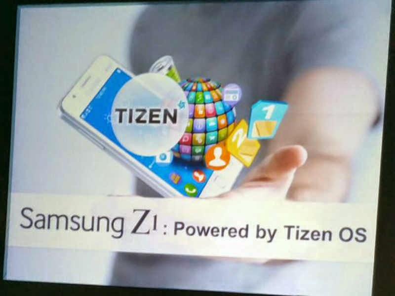 Samsung Z1 Tizen OS Smartphone 2015