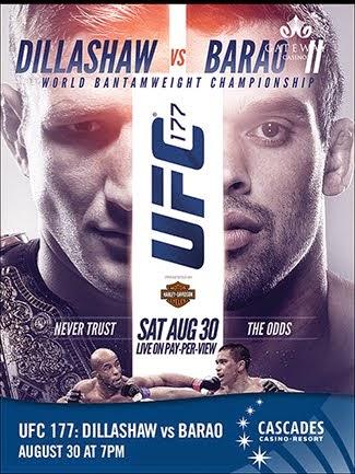 UFC 177: Dillashaw vs. Soto 8/30/14