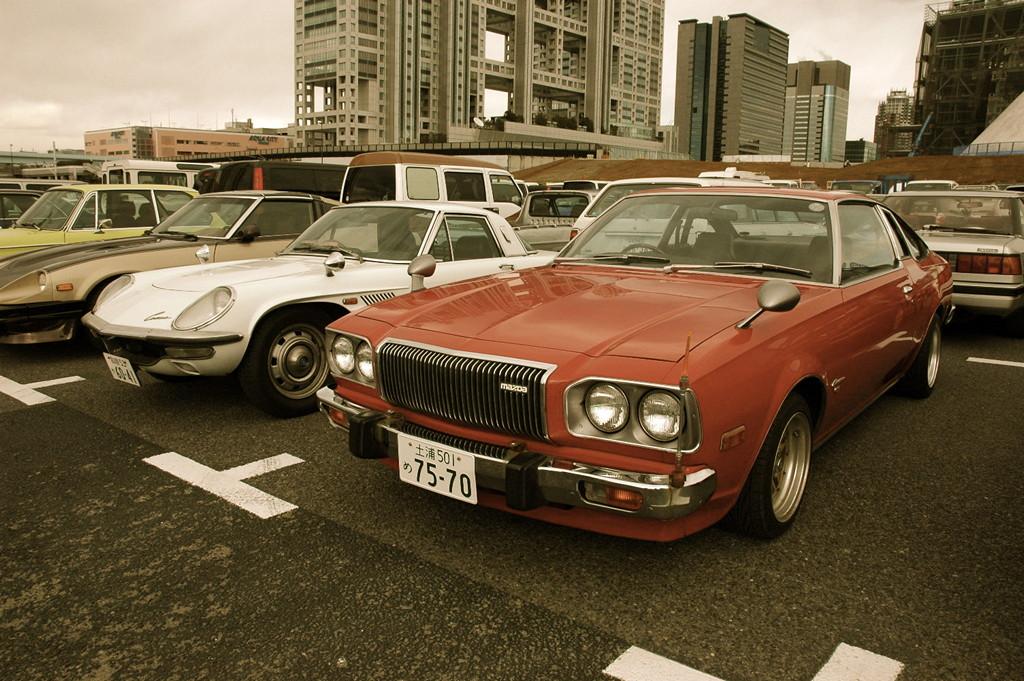 Mazda Cosmo Sport, AP, japoński klasyk z duszą, ciekawy samochód, oldschool, stara motoryzacja, dawne samochody, JDM