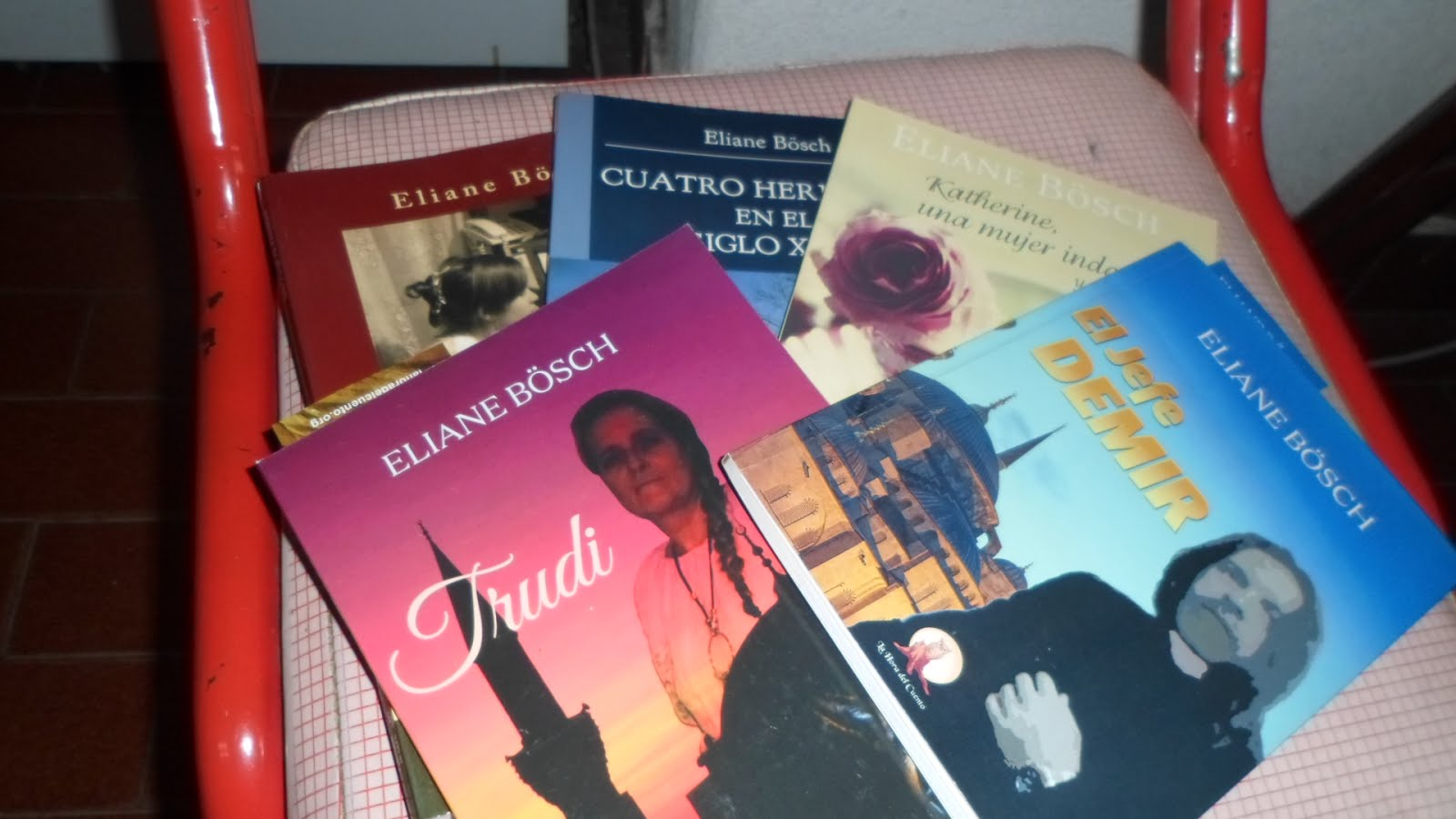 Mis cinco libros