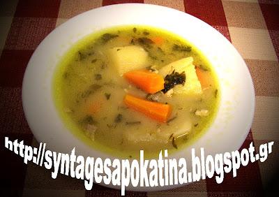 μπακαλιάρος βραστός στο νόστιμο και θρεπτικό ζουμάκι του http://syntagesapokatina.blogspot.gr