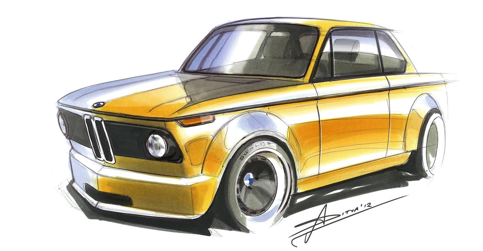 BMW 2002 Marker Sketch   Sketch Toast