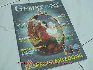 majalah IGS Gemstone