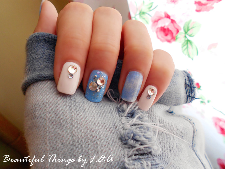Beautiful Things by L&A: Nails ❤ Hmm I say.. cloud.