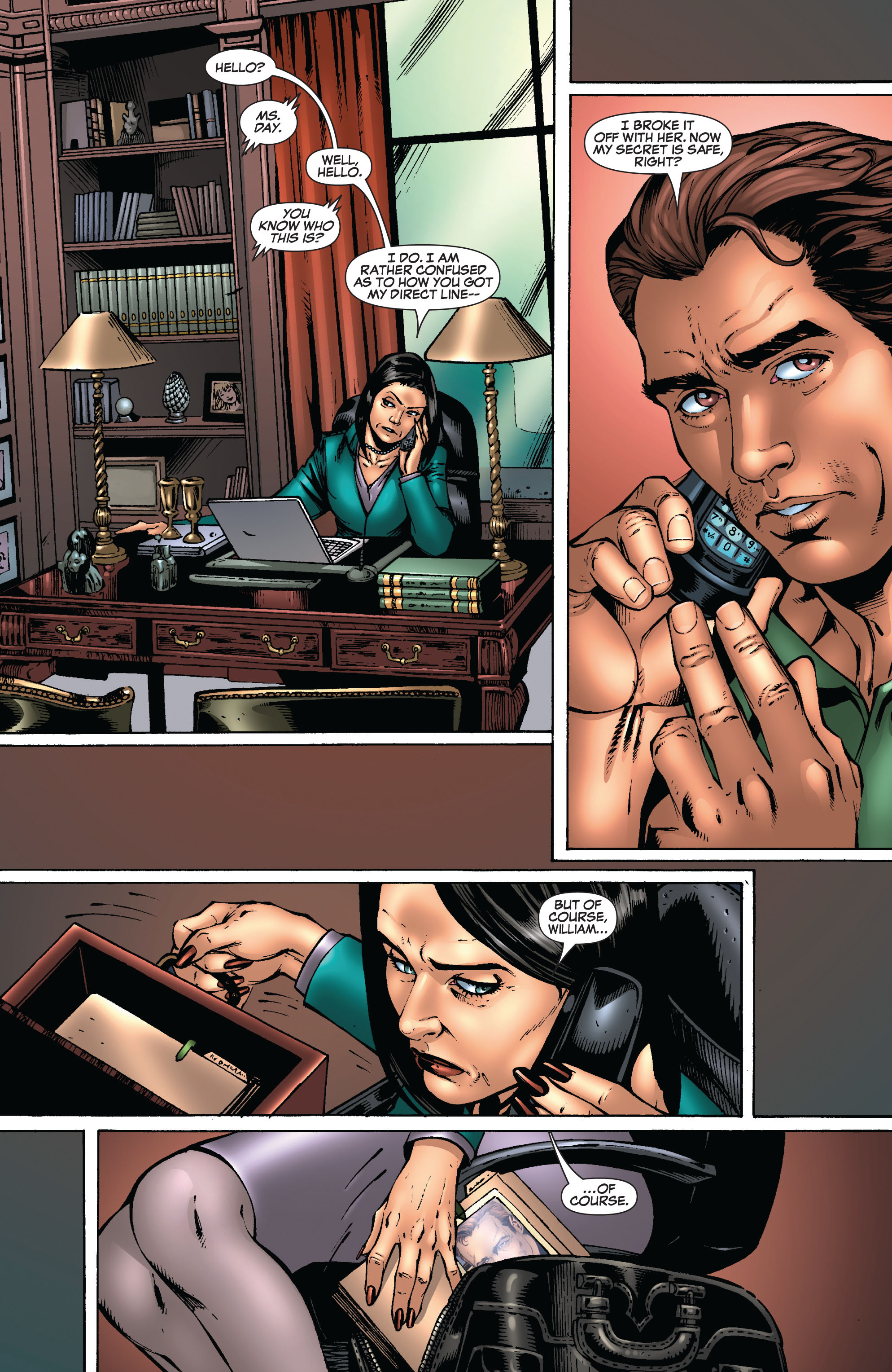 Read online Secret Invasion: The Infiltration comic -  Issue #8 - 19
