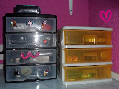 How2bebeautiful c mo organizar nuestro maquillaje for Cajoneras de plastico