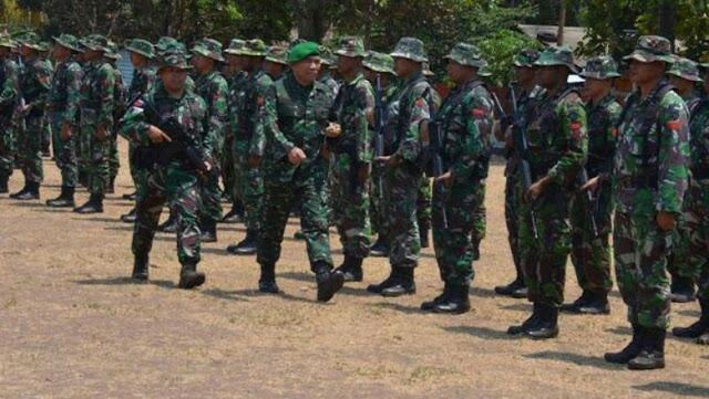 Bantu Padamkan Kebakaran Pangdam Cenderawasih kerahkan 135 Personel TNI