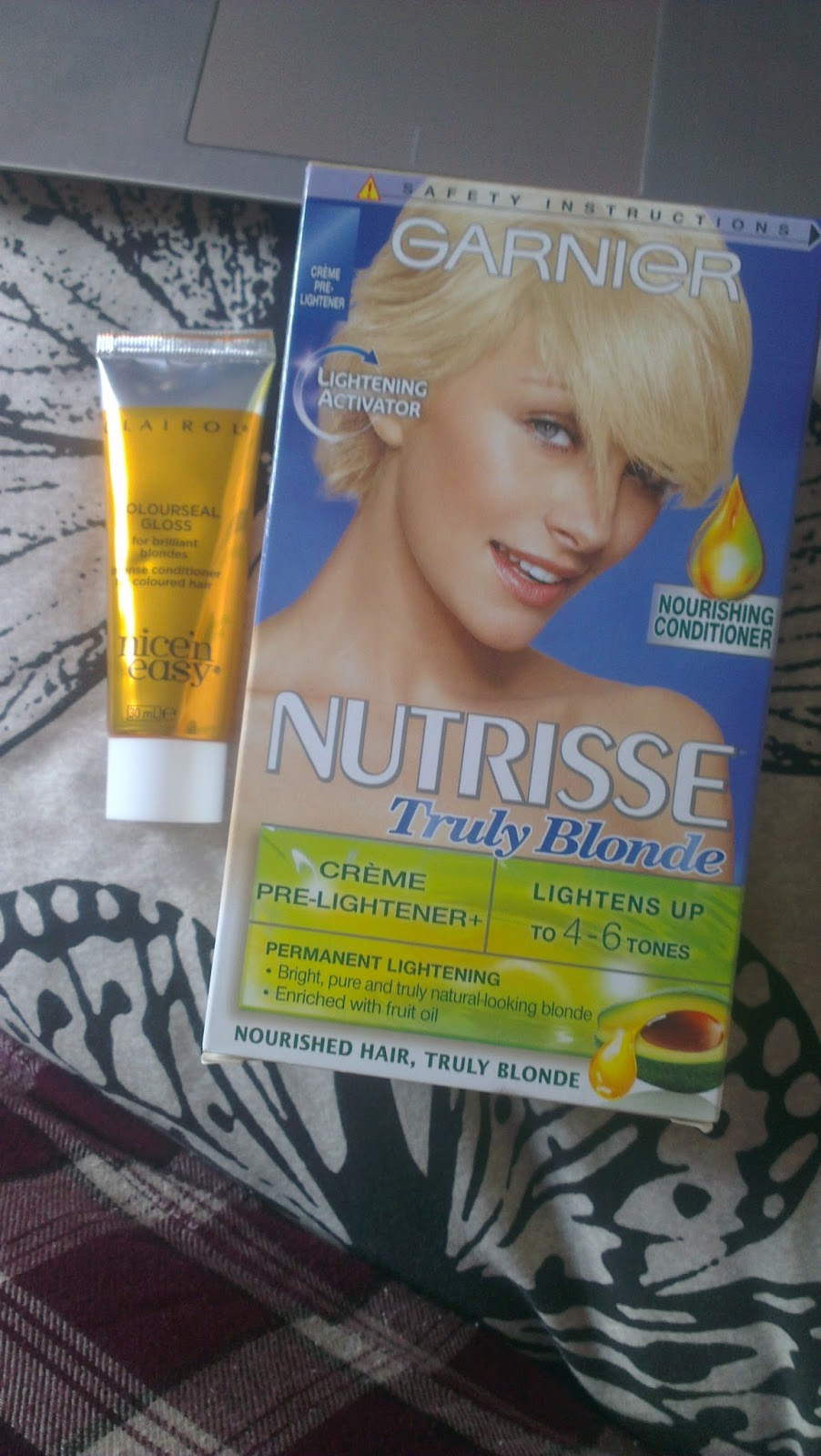 The English Teacup Product Review Garnier Nutrisse Truly Blonde