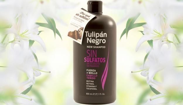 Champú sin sulfatos Tulipán Negro