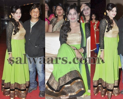 Director Surender Reddy Wife in Salwar
