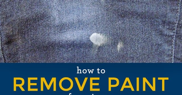 how to remove paint from jeans desert domicile. Black Bedroom Furniture Sets. Home Design Ideas