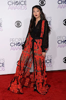 Arden Cho People's Choice Awards 2016 red carpet fashion dress