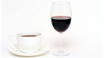 mezclar vino y cafe