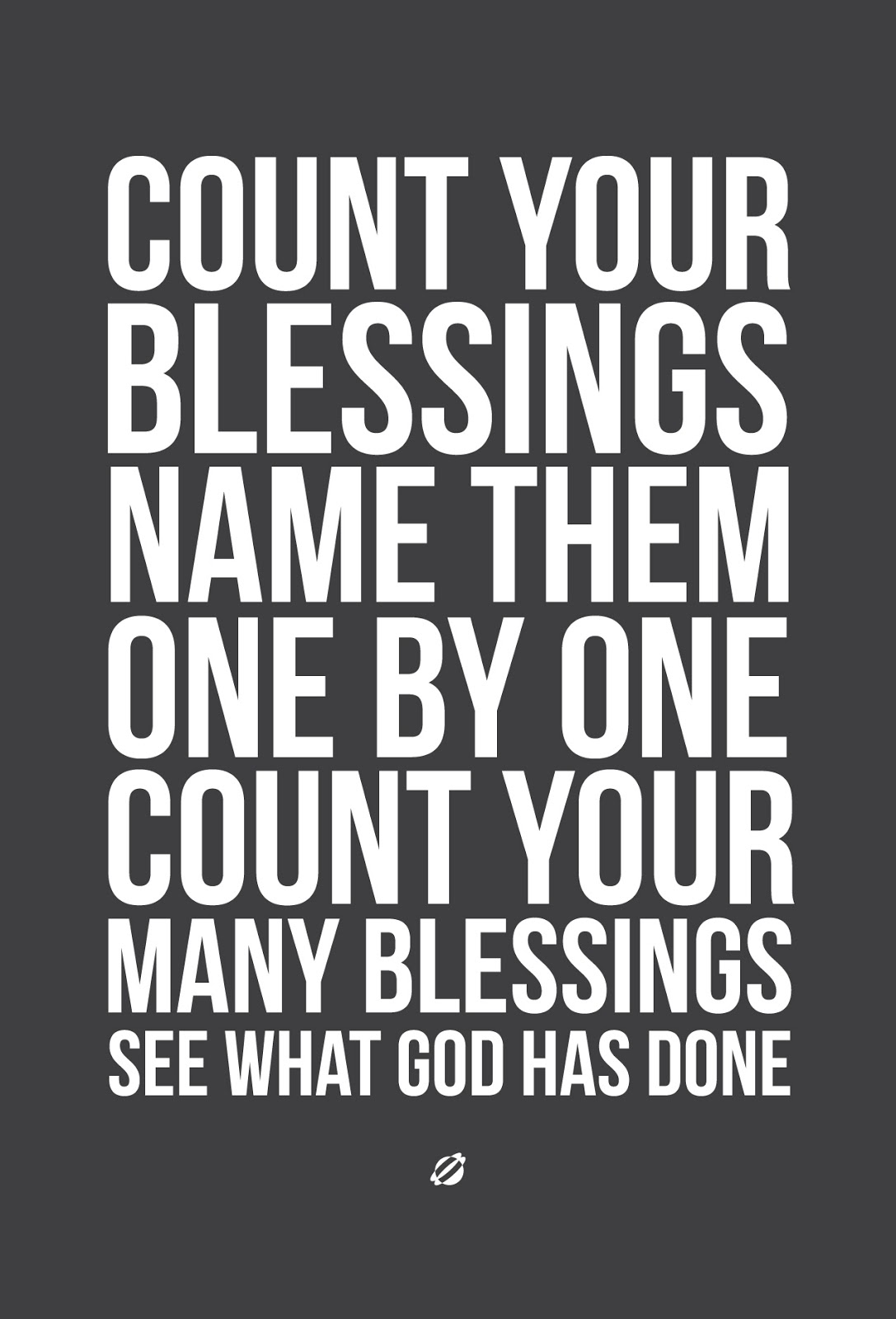 LostBumblebee 2013- COUNT YOUR BLESSINGS V3-DG - Free Printable