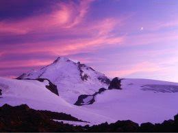 Гора на закате