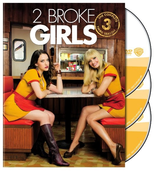 Enter To Win 2 Broke Girls Season 3 DVD