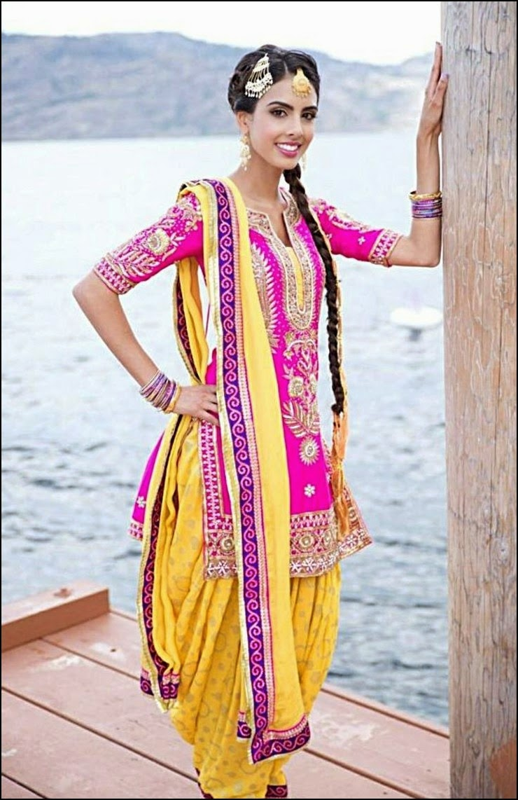 Girly Girl Patiala Suits Designs Trendy Suit For Girls